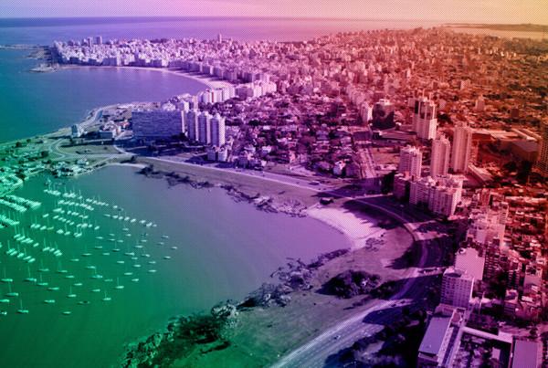 Montevideo vista aérea